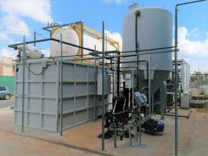Station de traitement d'eau menfenil